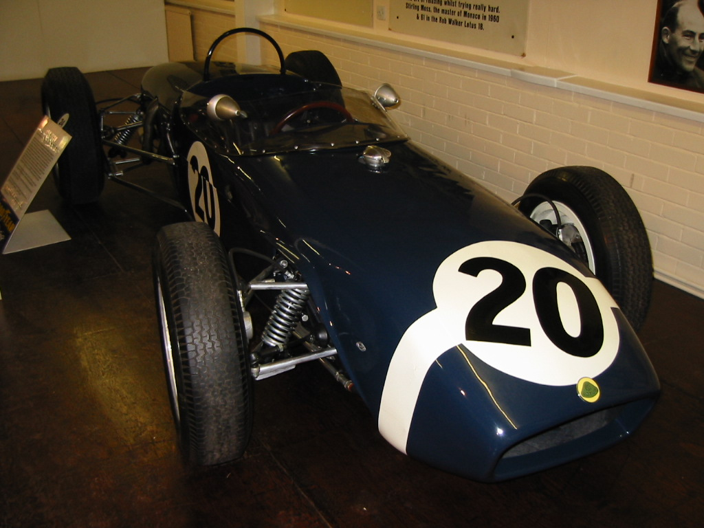 Rob Walker's 1960 Lotus 18